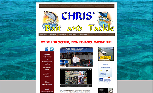 Chris' Bait & Tackle Shop and Gas Dock